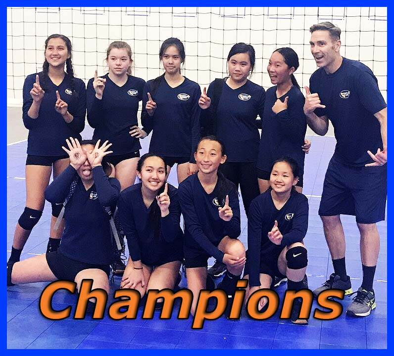 u14 Gold Team wins SVVC Invitational!