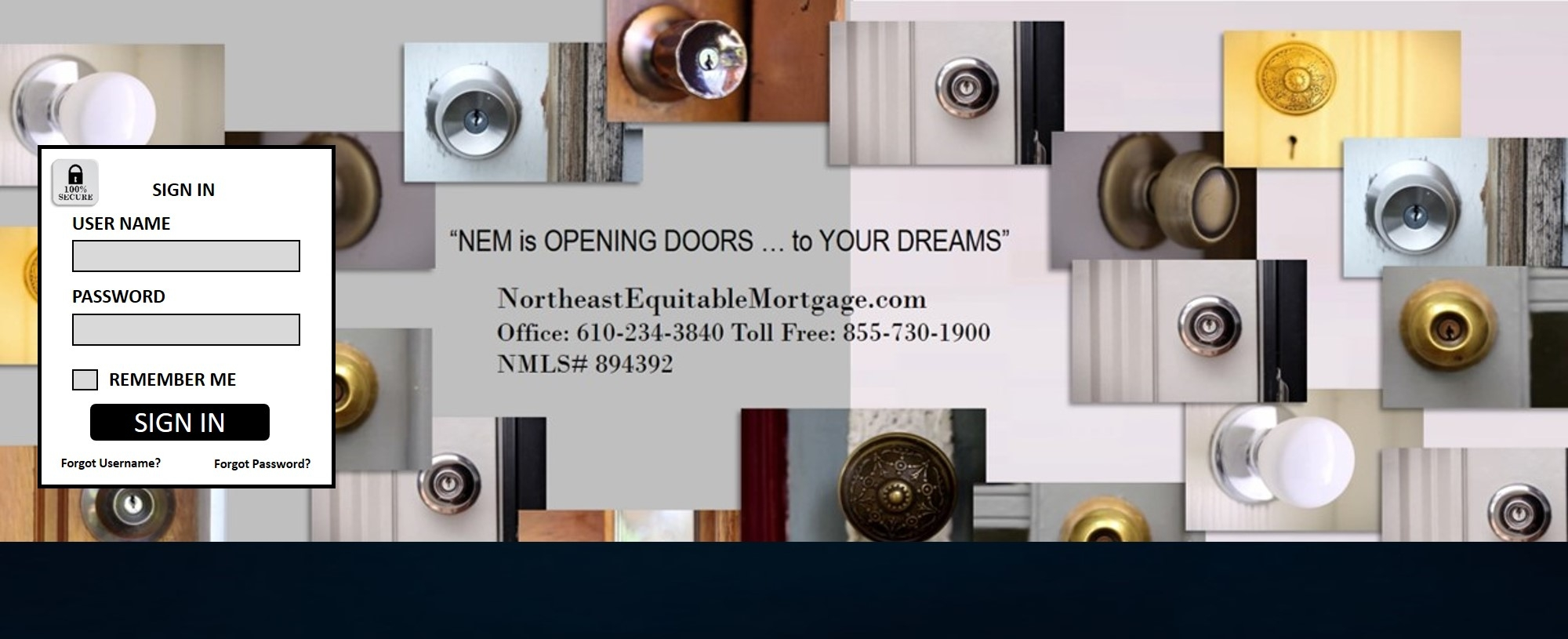 Northeast Equitable Mortgage, LLC slide #1