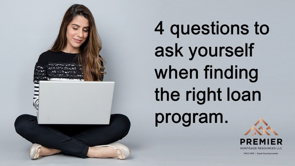 4 things to consider when looking for the right loan program