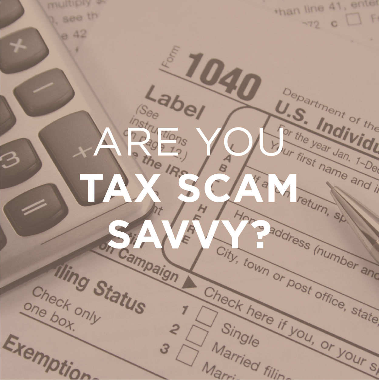 Are You Tax Scam Savvy?