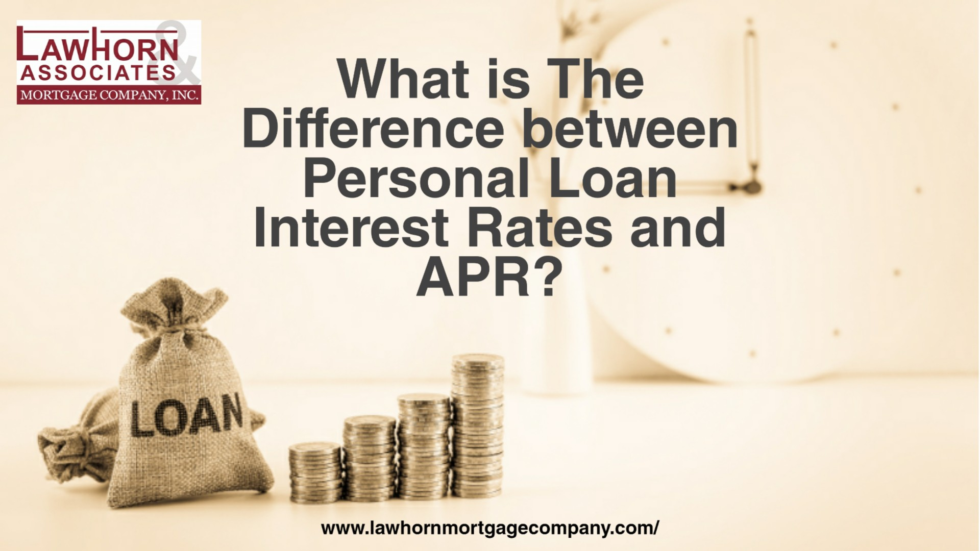 What is The Difference between Personal Loan Interest Rates and APR?