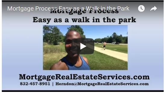 Mortgage Process as Easy as a Walk in the Park
