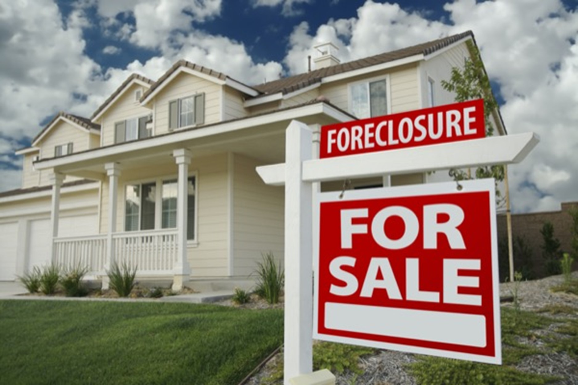 Understanding the risks of buying a foreclosed property.