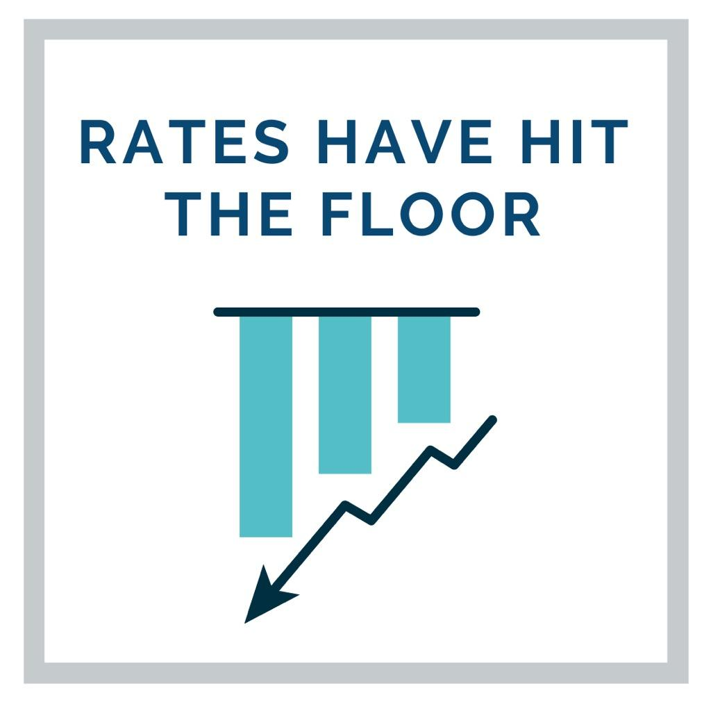 Rates Have Hit The Floor
