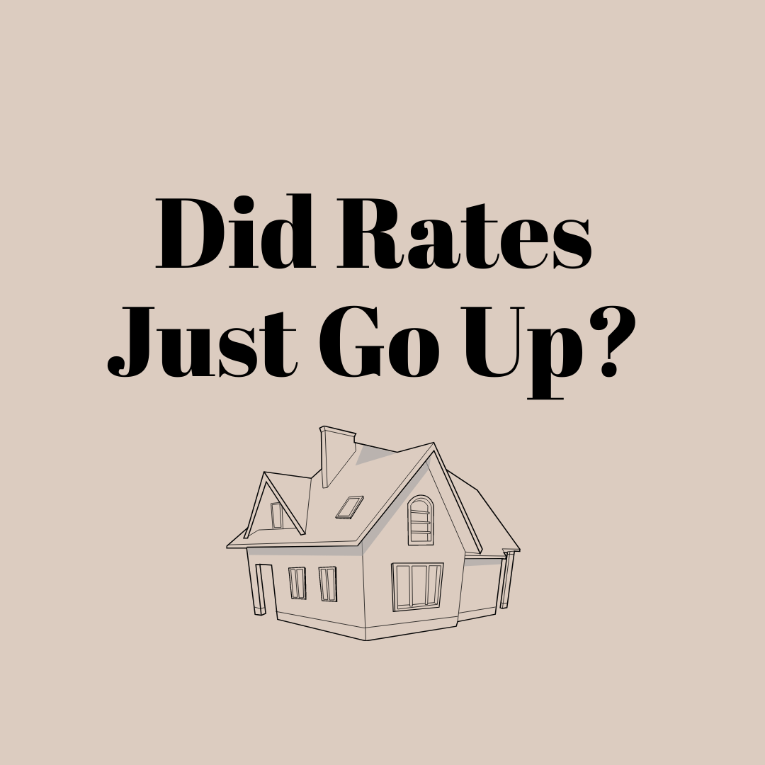 Did Rates Just Go Up?