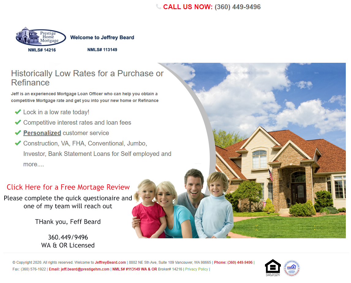 Free Mortgage Review