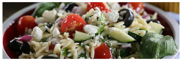 Recipe of the Quarter: Greek Orzo Salad