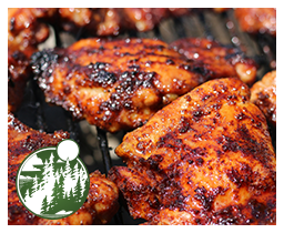 Recipe Of The Quarter: Spicy Honey Brushed Chicken Thighs