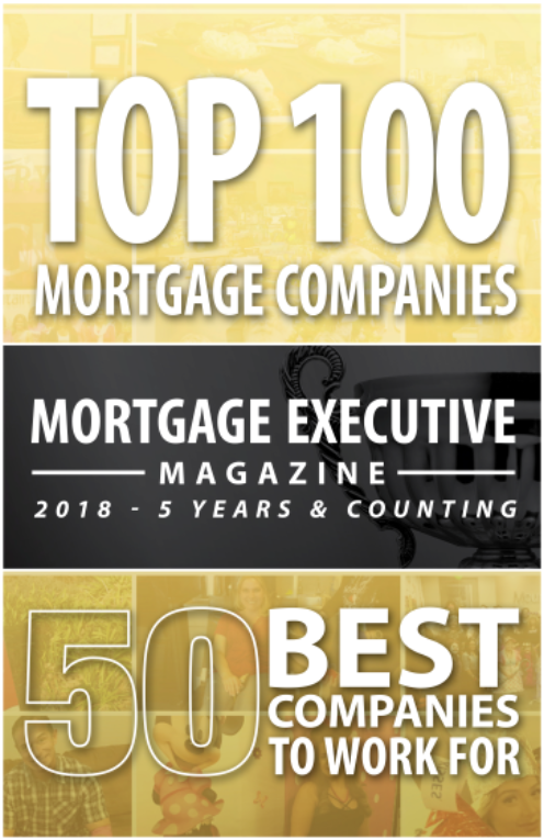 Mountain West Financial Awarded Top 100 Mortgage Companies and 50 Best Companies To Work For In America