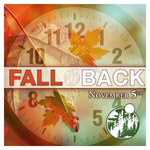 Daylight Savings: November 4th