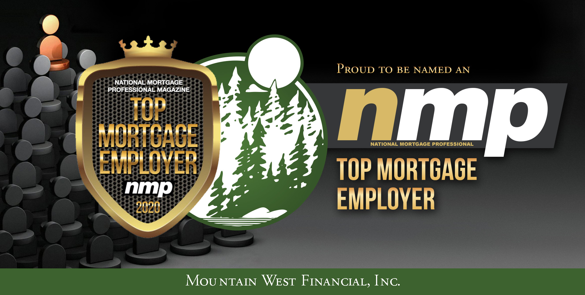 Mountain West Financial, Inc. Wins National Award as Top Mortgage Employer in 2020