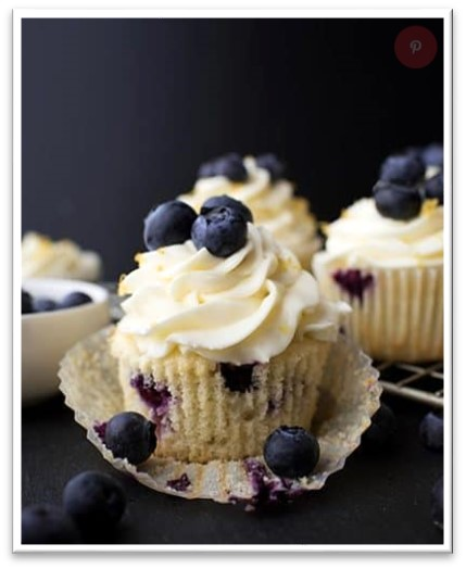Recipe of the Quarter: Lemon Blueberry Cupcakes