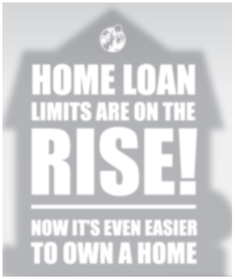 Home Loan Limits Are On The Rise