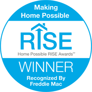 Freddie Mac's RISE Award Winner