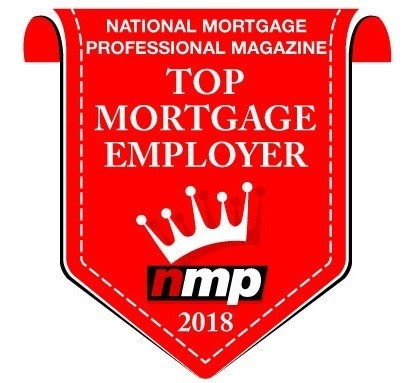 Mountain West Financial, Inc. Wins National Award as Top Mortgage Employer 2018