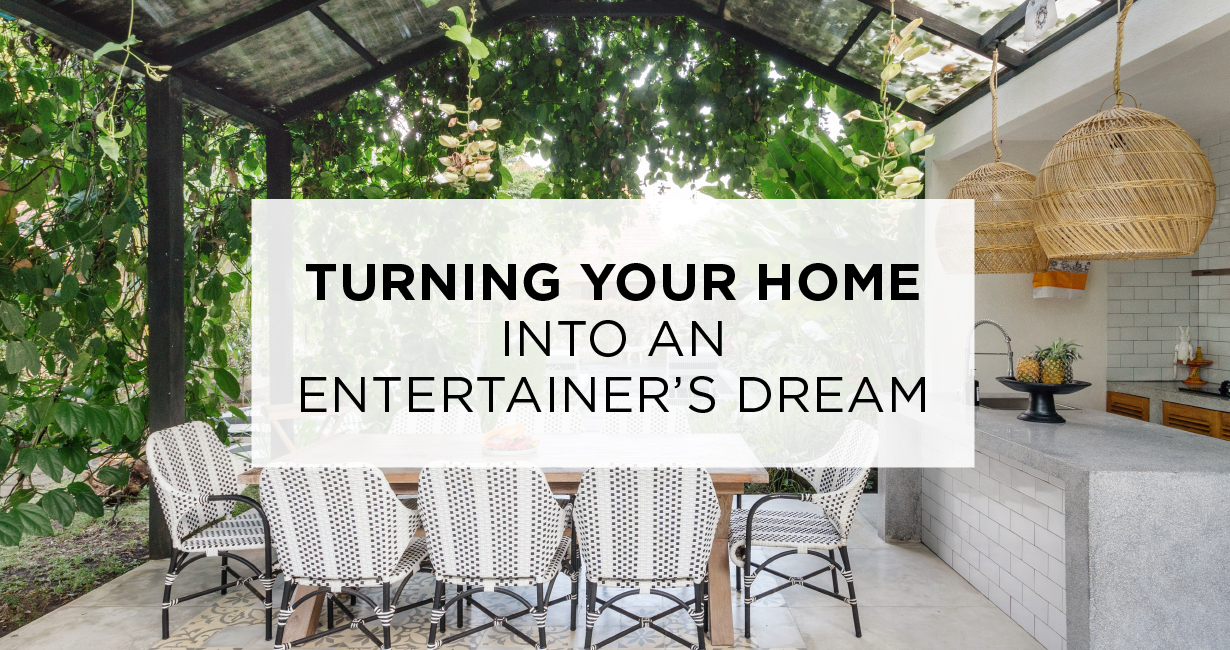 Turning Your Home Into an Entertainer's Dream