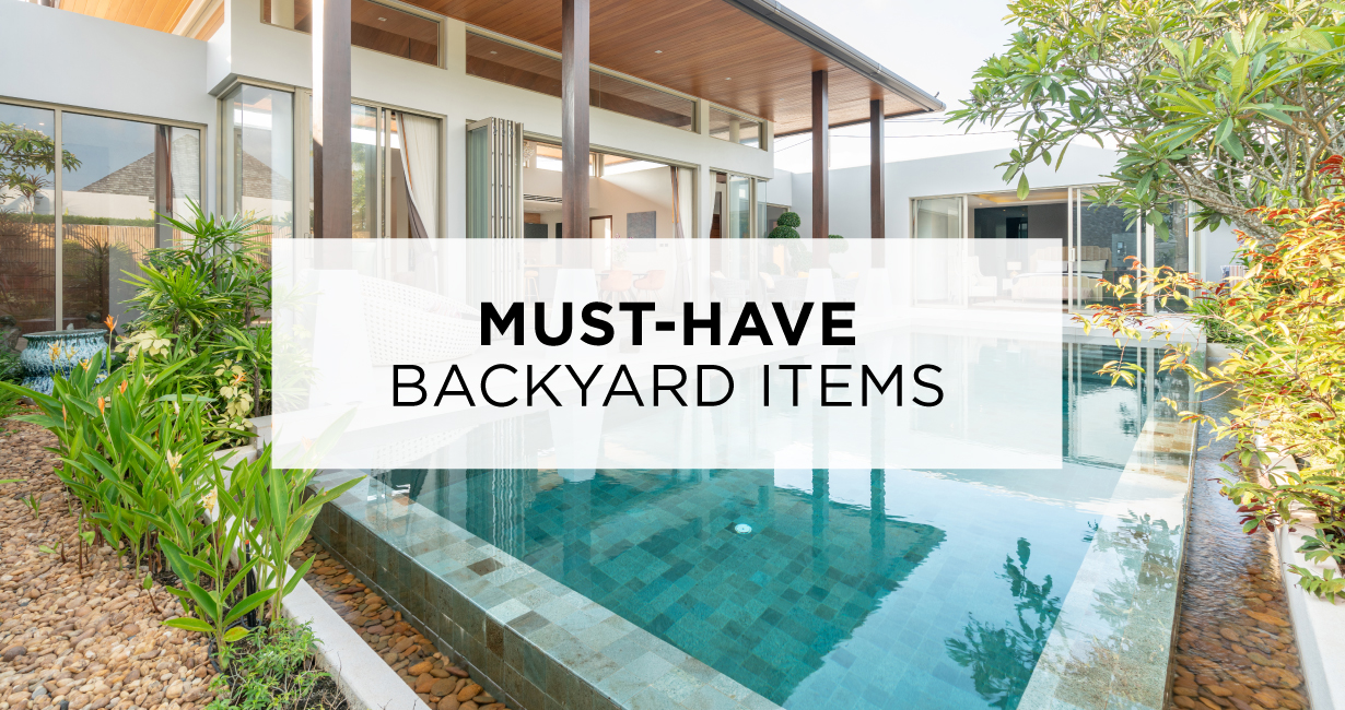 Must-Have Backyard Items