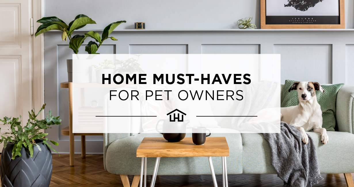 Home Must-Haves for Pet Owners