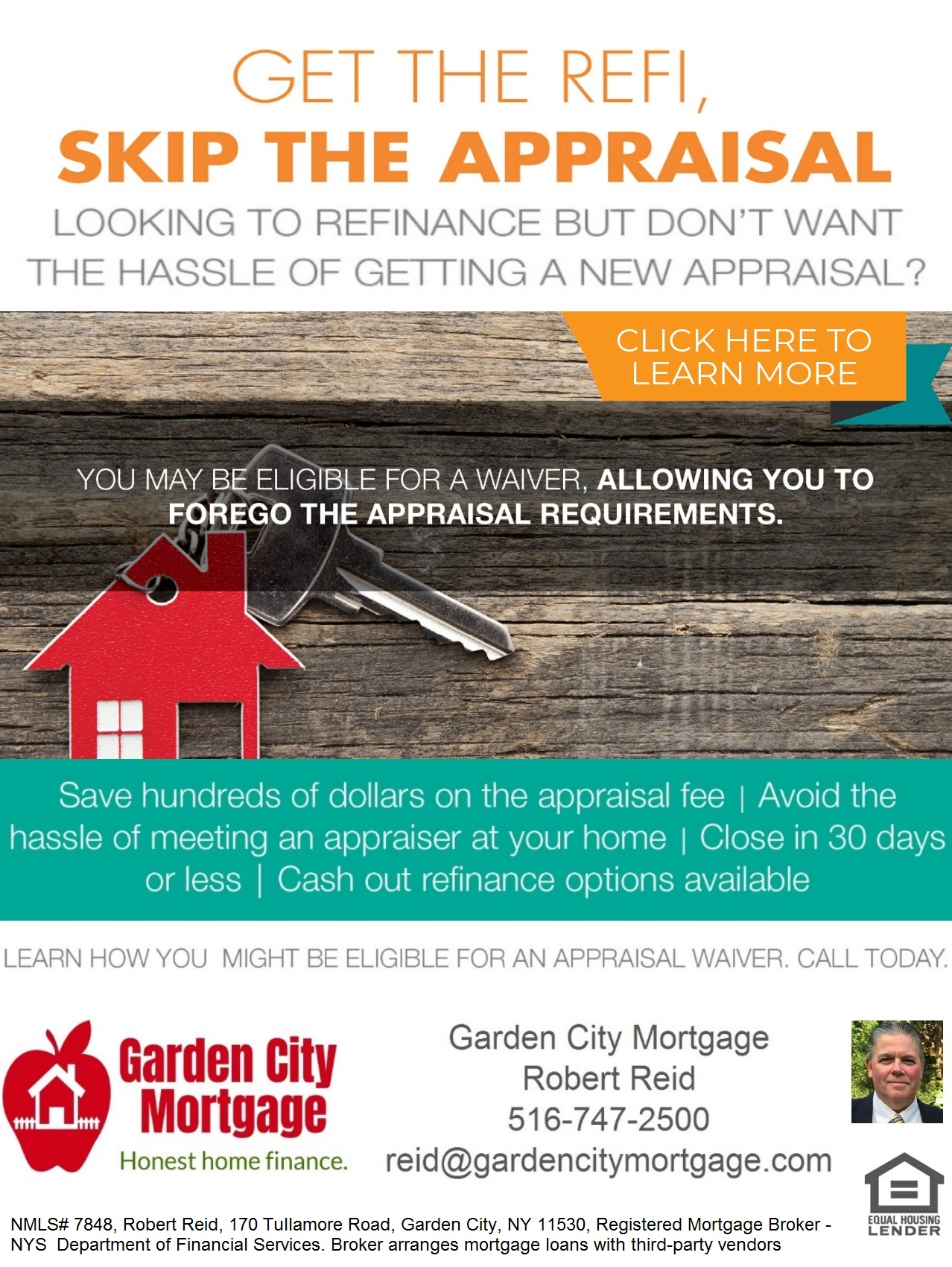 Skip the Appraisal & Simplify Your Next Refinance
