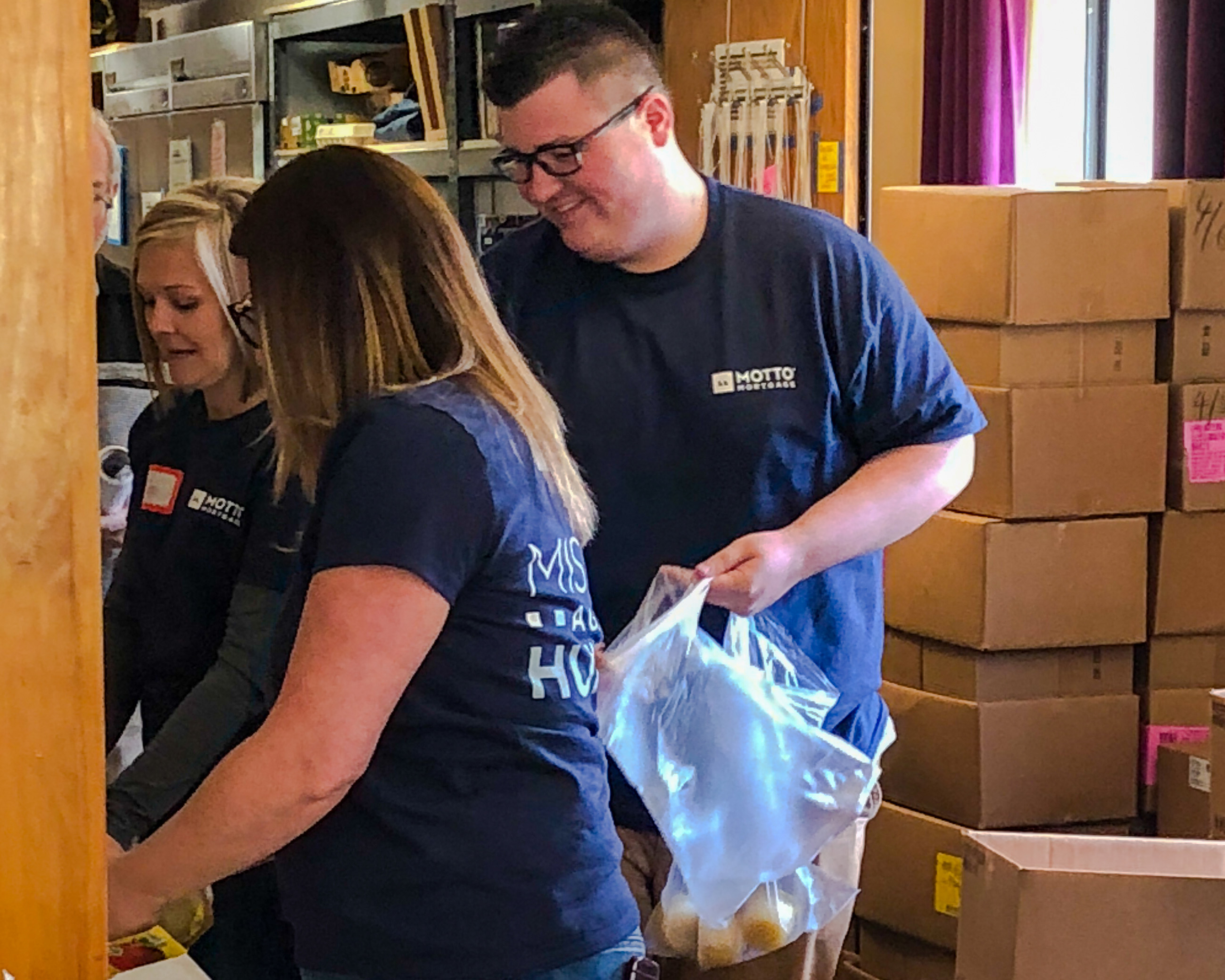 mission against hunger motto mortgage team