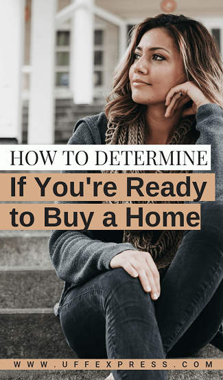 determine if you're ready to buy a house