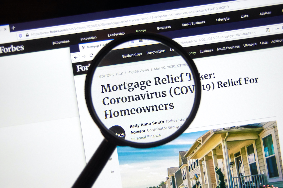 Mortgage News | Covid-19 Payment Relief for Homeowners