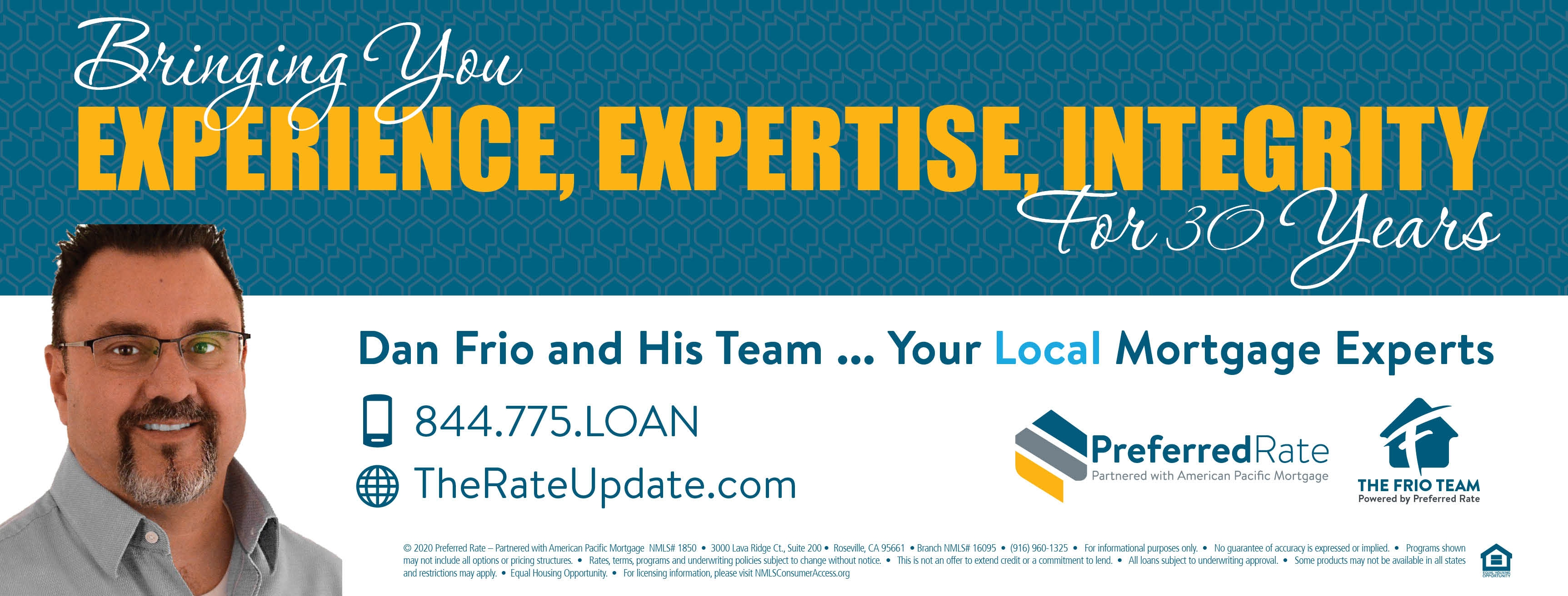 The Rate Update   Powered by Preferred Rate